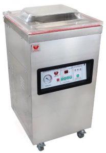 Mobilní komorová vakuová balička BEEKETAL T400S, profi vakuovačka potravin